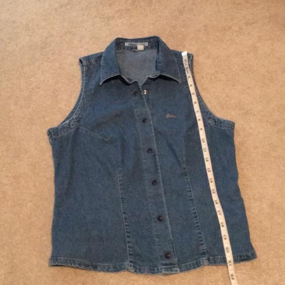Guess Jeans vest style denim shirt